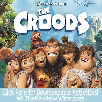 Croods Downloadable Activities