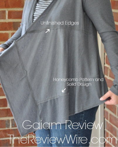 Gaiam Hooded Studio Wrap Review