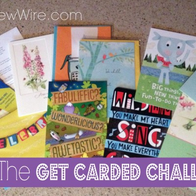 Bloggers: Take the Hallmark's Get Carded Challenge