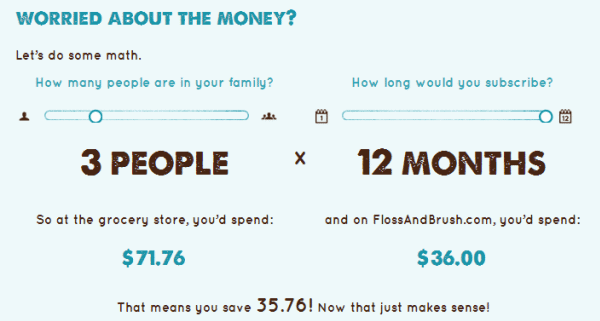 How-much-does-FlossAndBrush-Cost