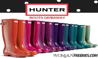 Hunter Rain Boots Giveaway