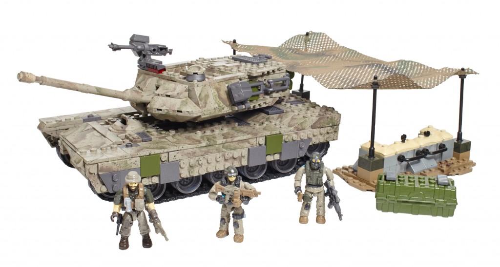 MEGA Bloks COD Heavy Armor Outpost