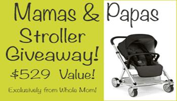 Mamas & Papas Stroller Giveaway