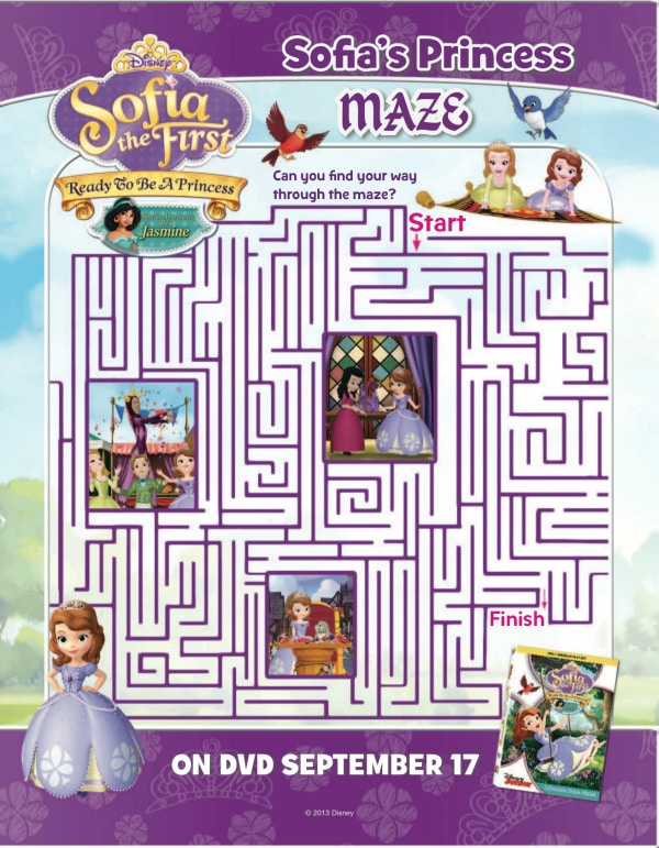 Sofia The First Activities Fit For A Princess