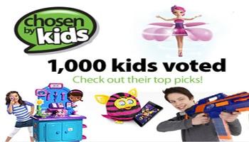 Walmart's Chosen by Kids Top Toy List 2013