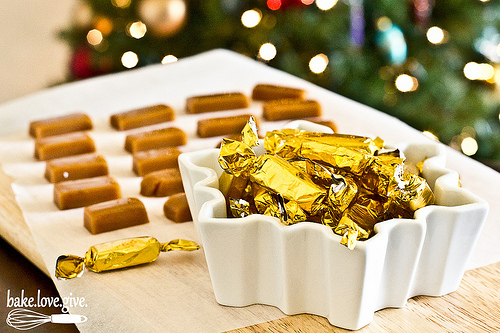 Gingerbread Spiced carmels