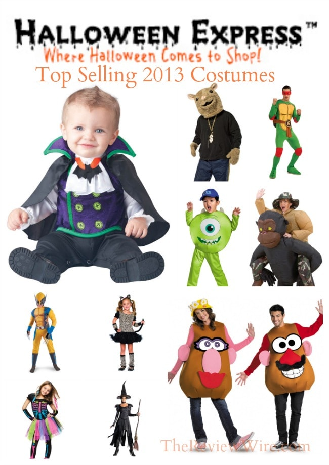Halloween Express Top Selling 2013 Costumes