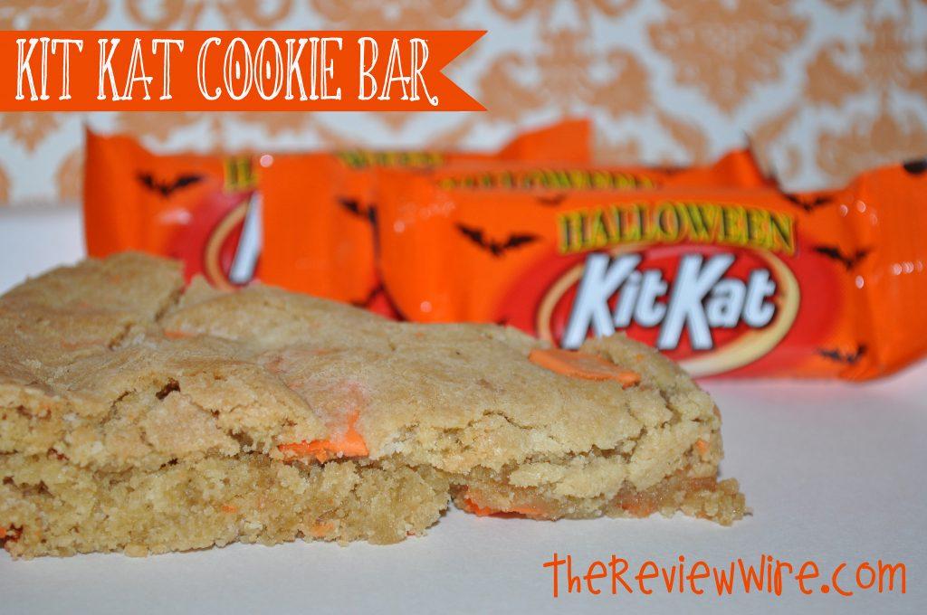 Kit Kat cookie Bar