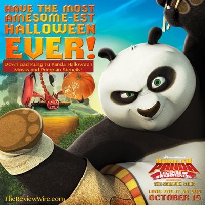 Kung Fu Panda Halloween Printables