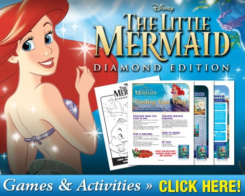 The Review Wire: Little Mermaid Printable Games