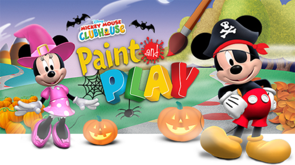 Mickey Mouse Clubhouse Paint and Play logo