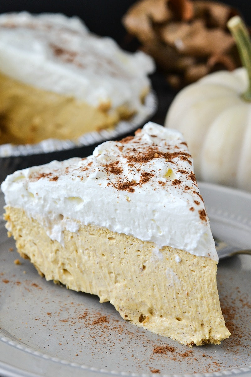 No Bake Pumpkin Pie Cheesecake from Mother Thyme