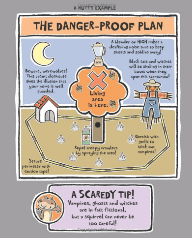 Scaredy Squirrel Danger Plan