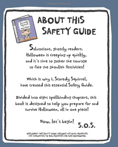Scaredy Squirrel Guide