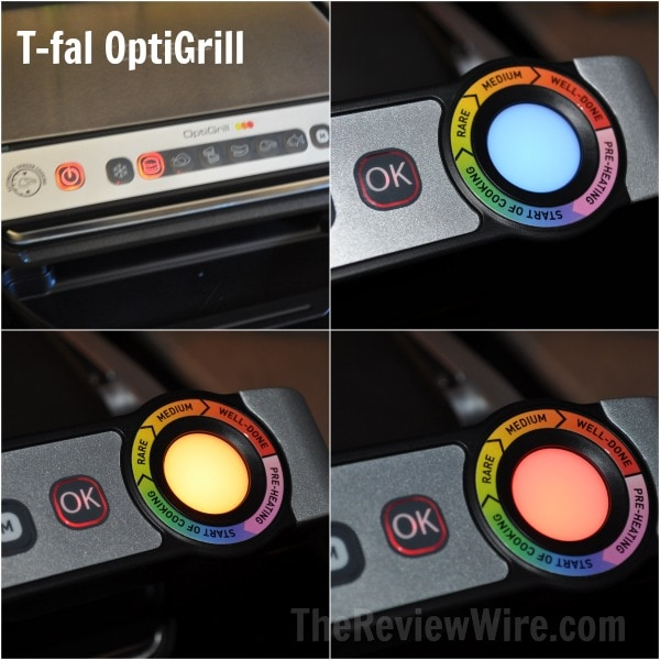 T-fal OptilGrill Settings