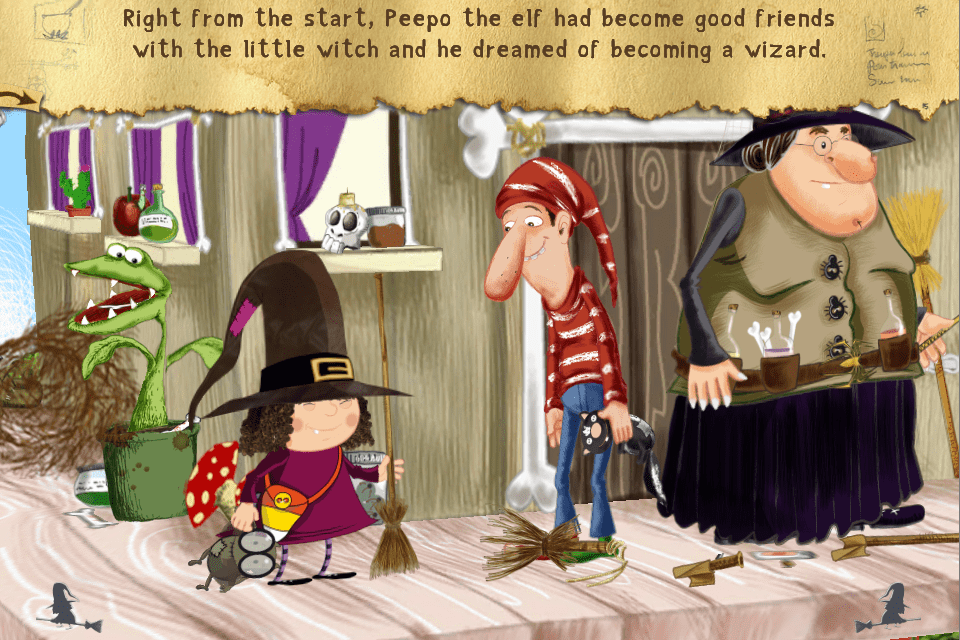 The Little Witch at School App