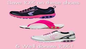 Therafit Shoes pink