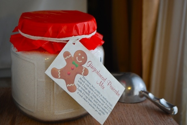 gingerbread buttermilk pancake mix