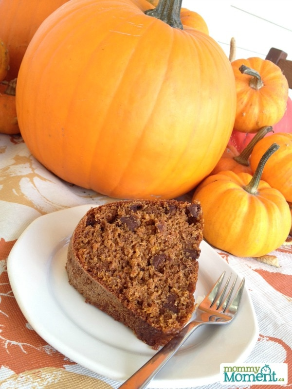 Pumpkin Bundt Cake from Mommy Moment