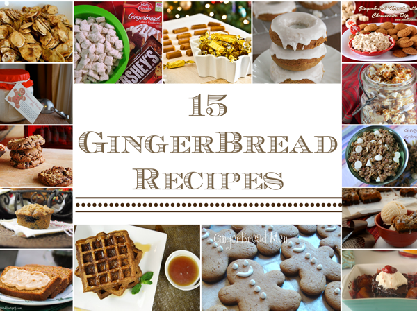 15 GingerBread Recipes