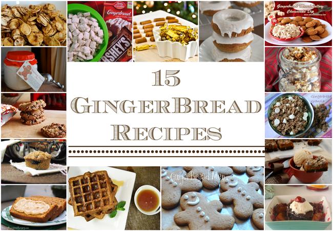 15 GingerBread Recipes