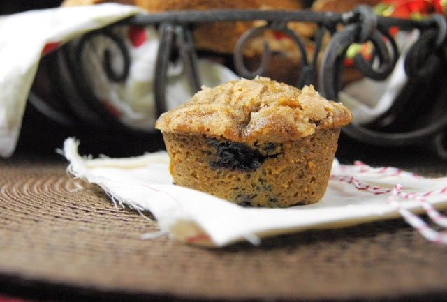 Blueberry Gingerbread Muffins 7