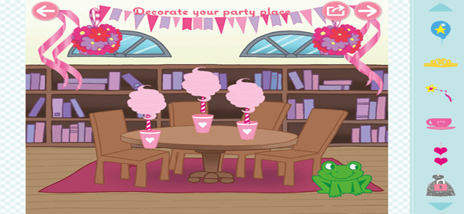 Katie Woo's Party Planning Game App 2