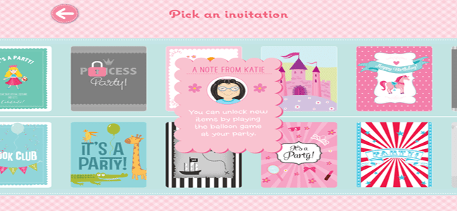 Katie Woo's Party Planning Game App 3