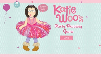 Katie Woo's Party Planning Game App