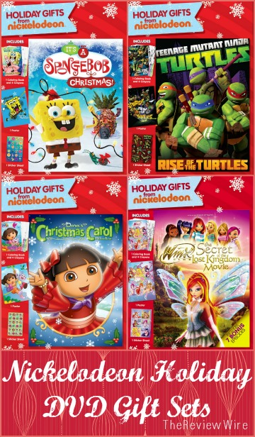 Nickelodeon Holiday DVD Gift Sets