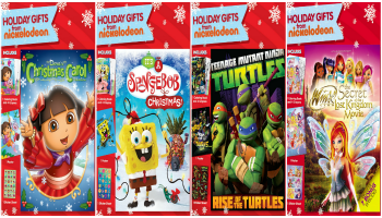 Nickelodeon Holiday DVDs