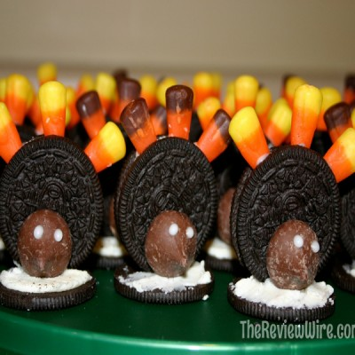 Oreo Turkey Cookies With 4 Ingredients Plus Link Up Your Favorite Thanksgiving Recipe