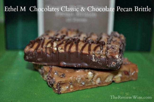 Ethel M Chocolates Classic & Chocolate Pecan Brittle