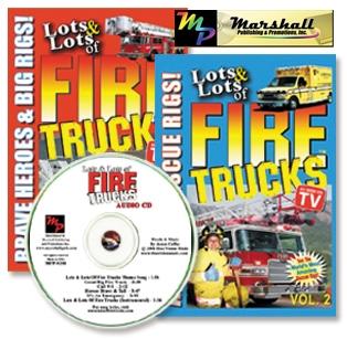 Lots and Lots of Firetrucks 2 DVD Set