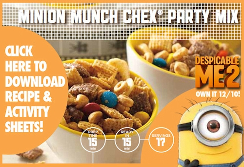 Minion Munch Chex Mix Recipe