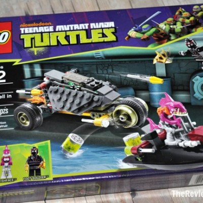 TMNT LEGO: Stealth Shell in Pursuit