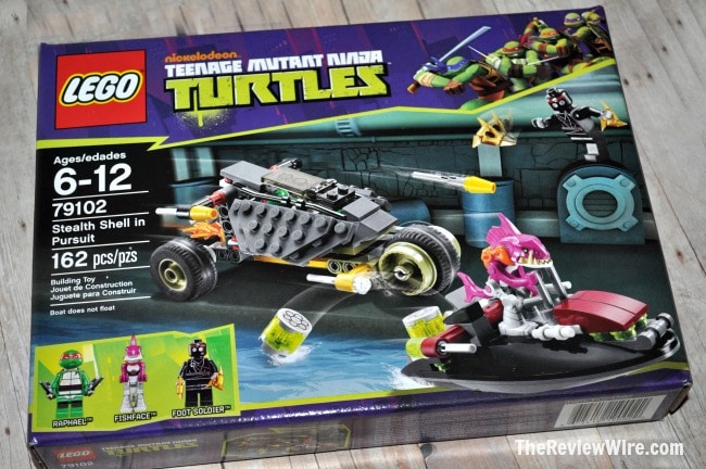 TMNT Stealth Shell in Pursuit