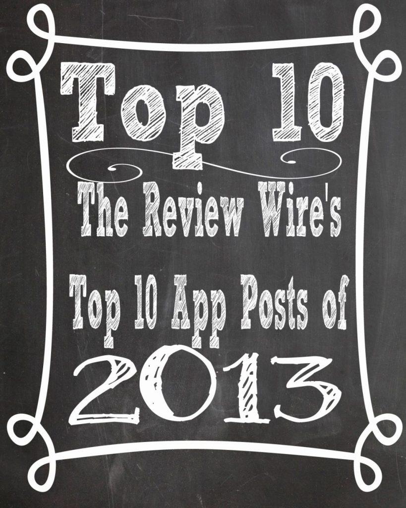 Top 10 app reviews of 2013