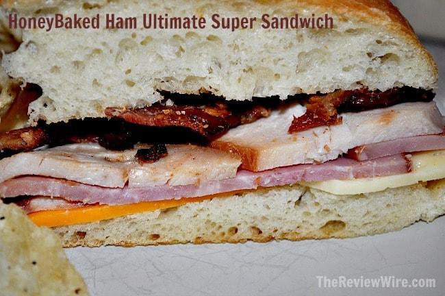 HoneyBaked Ham Ultimate Super Sandwich