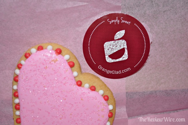 A Couple of Squares Valentine Sugar Cookie