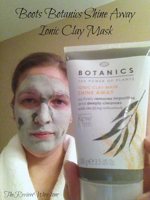 Boots Botanics Shine Away Ionic Clay Mask