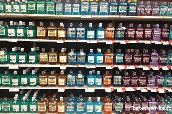 Listerine Mouthwash at Target