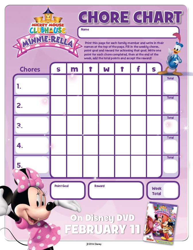 Minnie Mouse Chore_Chart