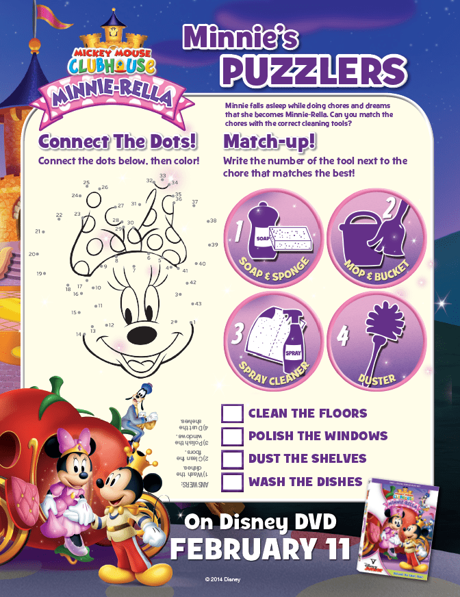 Minnie Mouse Puzzles