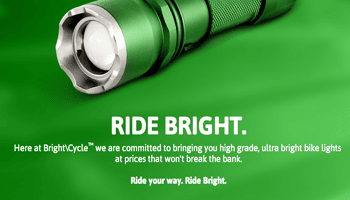 Bright\Cycle Falcon LED Bike Light