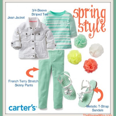 Spring It Forward with Fashion from Carter's #CartersSpringStyle