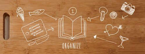 Cookbook - organize