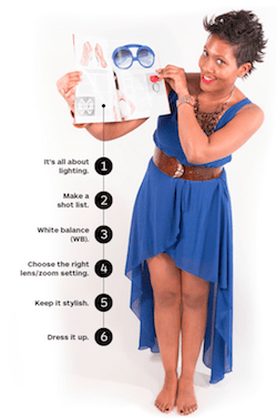 How to Make a Fashion Book with Blurb's Photo Shoot Tips: Lighting