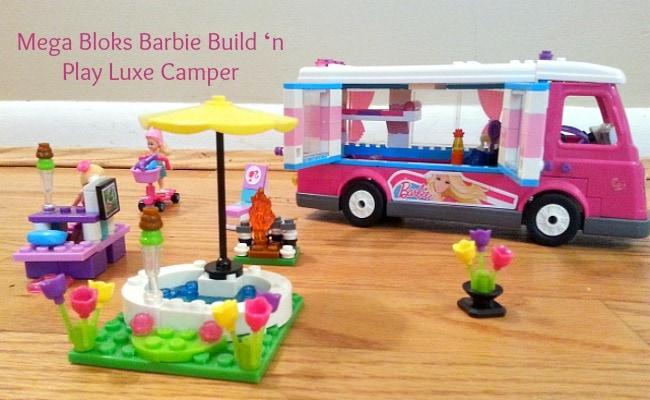 Mega Bloks Giveaway: Barbie Build 'n Play Luxe Camper