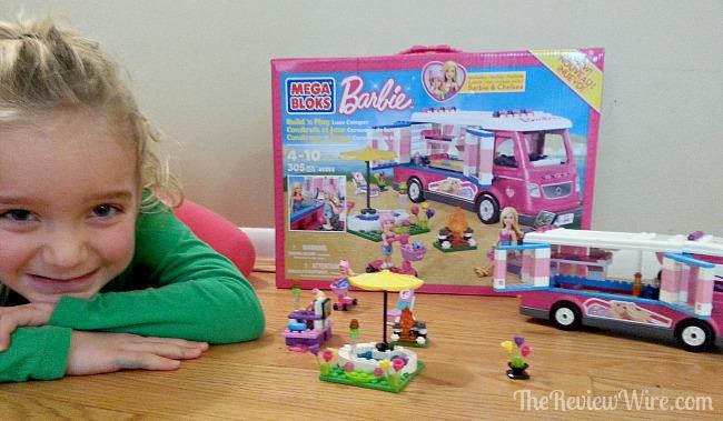 Mega Bloks Barbie Build 'n Play Lux Camper